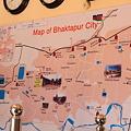 Photos: バクタプル市地図 世界遺産