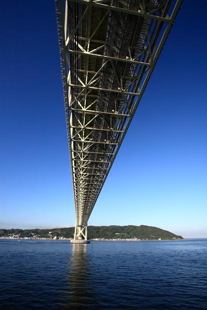 写真: 『文明の力』 ~明石海峡大橋~