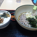 Photos: とろろ穴子丼セット。美味しかった~。明日うなぎで食べてみたい。