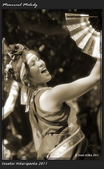 写真: 銀輪舞隊_18 - よさこい祭りin光が丘公園2011