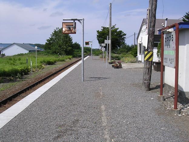 写真: 札弦駅1