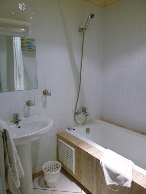 ホテルベレーレのバスルーム