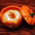 写真: かぼちゃプリン
