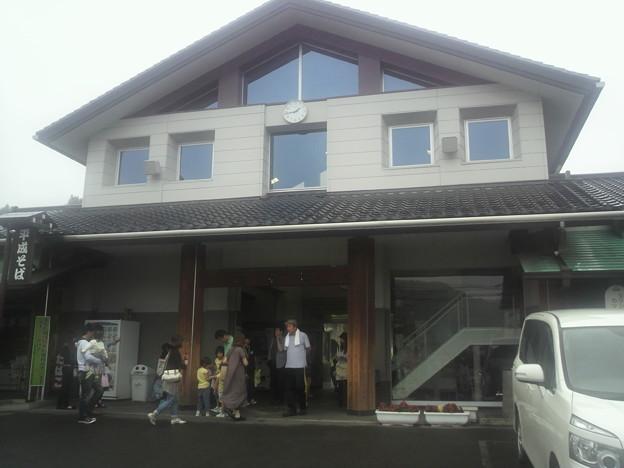 茂木駅駅舎。