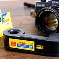 Photos: 110mmポケットフィルム