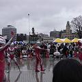Photos: 当日は雨模様シュワッチ