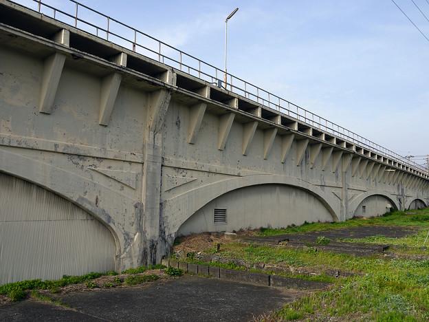 渋川発電所 水路橋