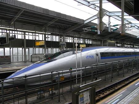 山陽新幹線500系こだま号(新大阪駅)2