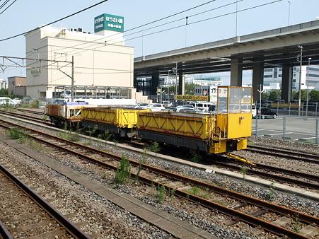 保線車両(磯子駅)