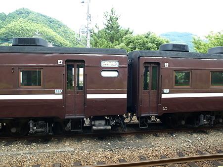 3-4号車連結部(津和野駅)
