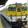 キハ40山口線(宮野駅)2