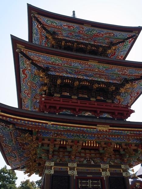 成田山の三重塔