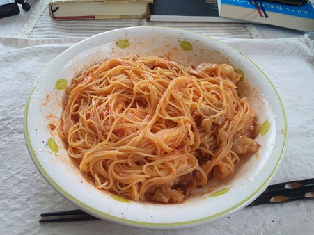 難しい料理は出来ないので、簡単に料理した結果