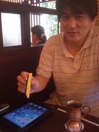 開発者とタッチペン