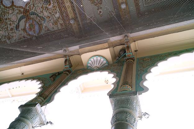 マイソール宮殿 柱