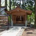 写真: 東口本宮浅間神社・神馬舎