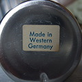 写真: Made in Western Germany