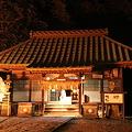 間もなく新年を迎える布川神社