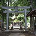 旧水戸街道 若柴宿 星宮神社