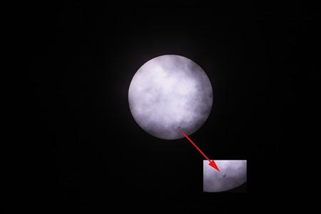 ISS 日面通過2011/05/06 001-3