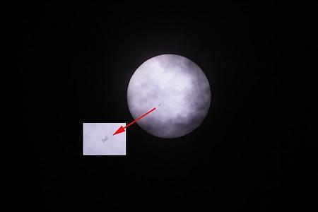 ISS 日面通過2011/05/06 002-3