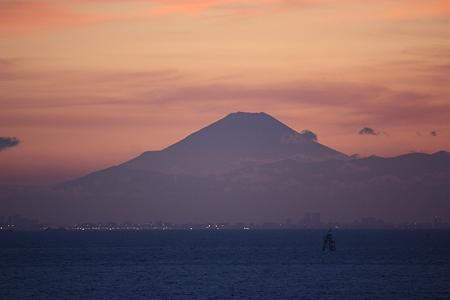 2010.07.17(SAT) 東京湾の富士山[千葉県千葉市]