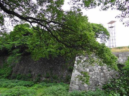 名古屋城石垣と大相撲櫓太鼓