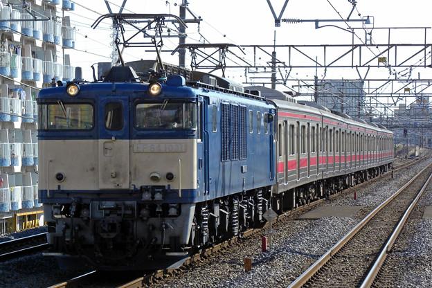 JR東日本205系ケヨ8編成中間6両廃車配給
