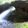 写真: 驚きの大瀑