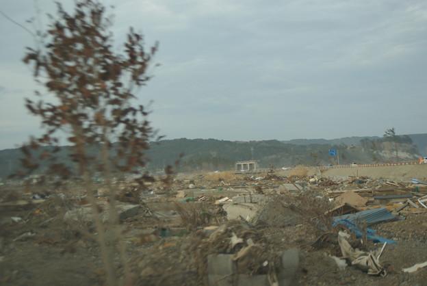 岩手県野田村の津波被災現場4