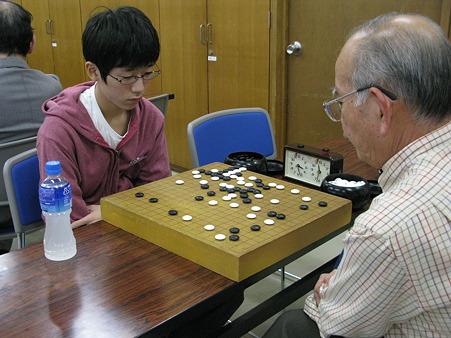 囲碁B級3位決定戦