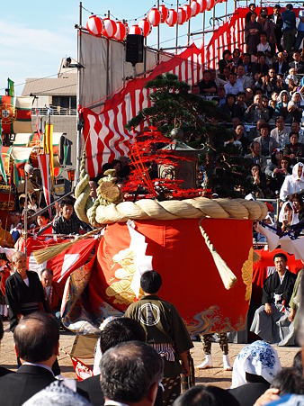 銅座町の傘鉾
