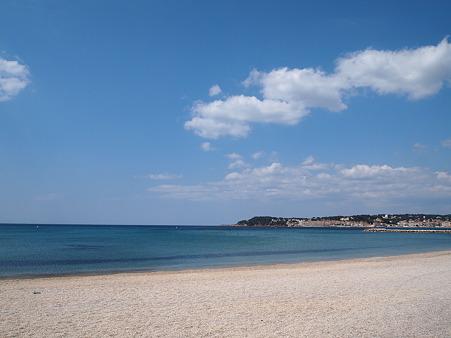 地中海の青