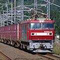 Photos: s9154_海峡線上り貨物列車_EH500-30+コキ_津軽今別