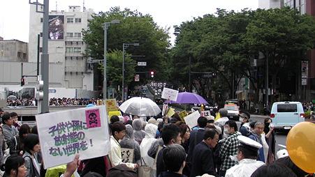 渋谷 原発やめろデモ 20110507 (24)