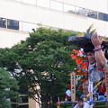 05 追い山当日 博多祇園山笠 西流 舁き山 剛力一投破漆黒(ごうりきいっとうしっこくをやぶる)2012年 写真画像9
