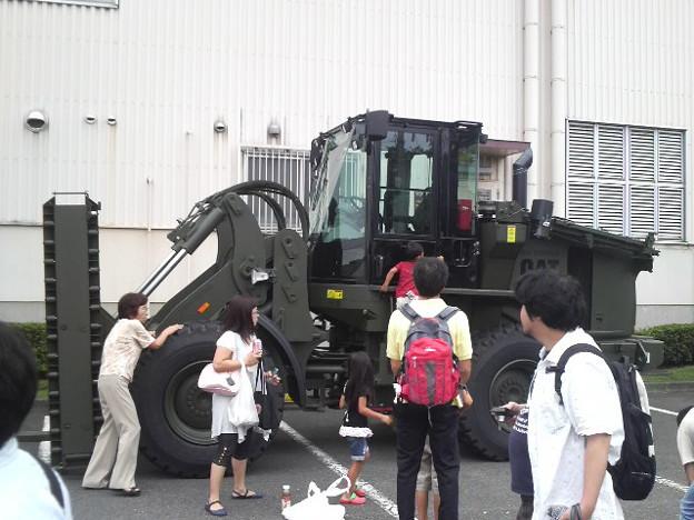 横田祭り 乗り物君大集合!