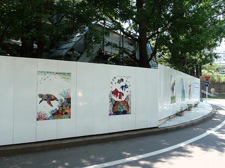 東京工業大学 エネルギー環境イノベーション棟 現場事務所 キャンパスギャラリー ヒーリングアート