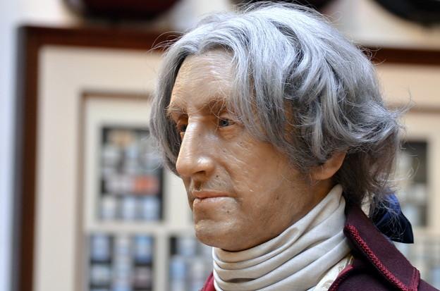 ジョージ・ワシントン(の、ろう人形)