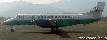 Yetiエアーの飛行機