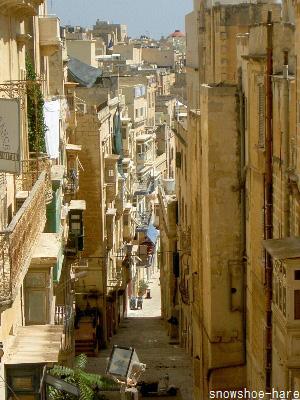 マルタの路地