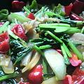 中華風彩り野菜炒めなう。ん...
