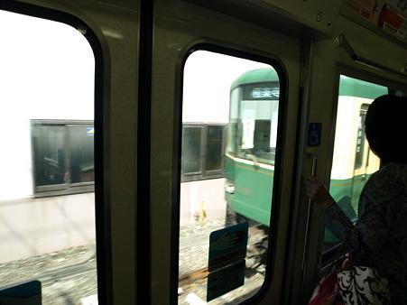 江ノ電車窓(稲村ヶ崎→極楽寺)
