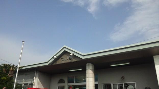 築城駅なう。