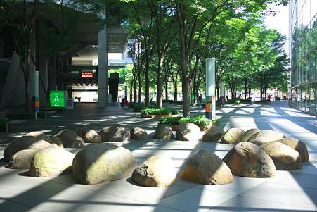 2010.08.29 有楽町 東京国際ホーラム ヘミスフィア・サークル Richard・LONG