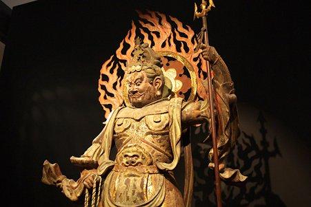 2010.11.15 東京国立博物館 彫刻 四天王立像 広目天 平安時代
