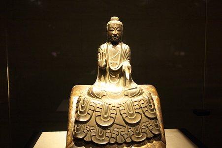 2010.11.15 東京国立博物館 仏像の道-インドから日本へ 如来坐像 法隆寺献納宝物