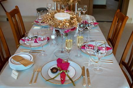 2010.12.08 山手 横浜イギリス館 世界のクリスマス2010 イギリス 食卓