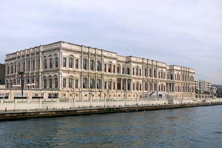 2011.01.28 トルコ イスタンブル ボスフォラス海峡クルーズ-チュラーン宮殿