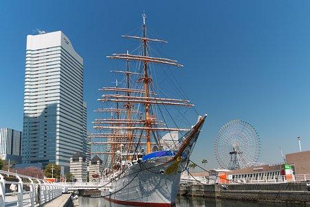 2011.04.05 みなとみらい 帆船日本丸